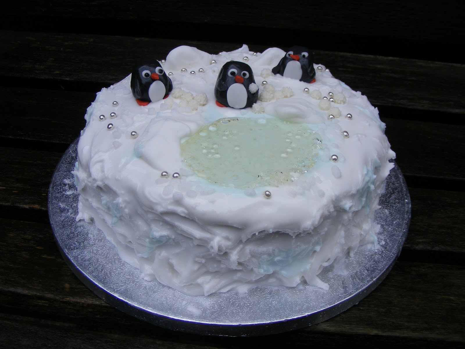 Christmas Cake The Last Krystallos