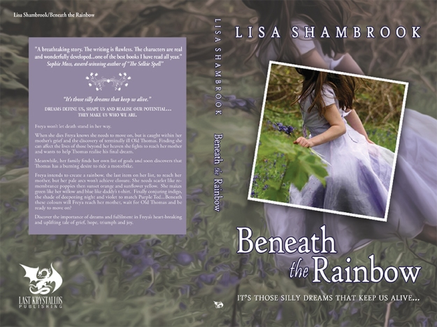Beneath the Rainbow full cover wrap © Lisa Shambrook and Blue Harvest Creative