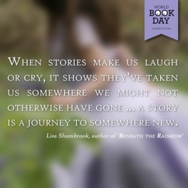 Lisa Shambrook World Book Day 2014 Quote