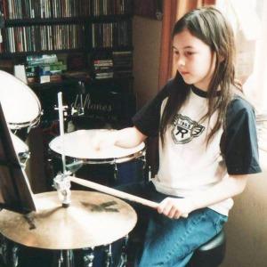 10. Rebekah 10 Jules' drums april 2004