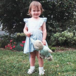 2. Rebekah 2 & Teddy July 1995