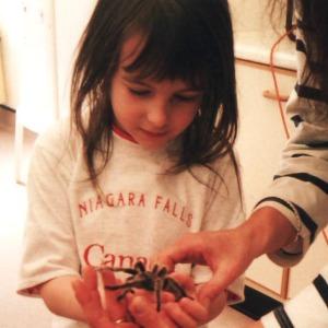 6. Cornwall, Flambards Becky 6 & tarantula april 2000