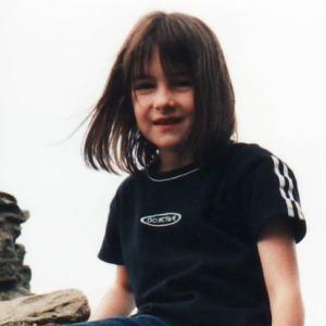 8. Rebekah 8 Caerphilly castle Aug 2001