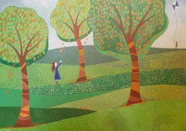 Leaf Fall - Abi Burlingham