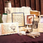 Amaranth Alchemy, Etsy, gifts, book pages, art,