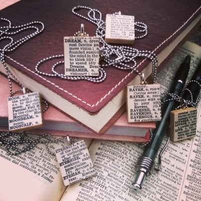 Amaranth_Alchemy_dictionary_necklaces