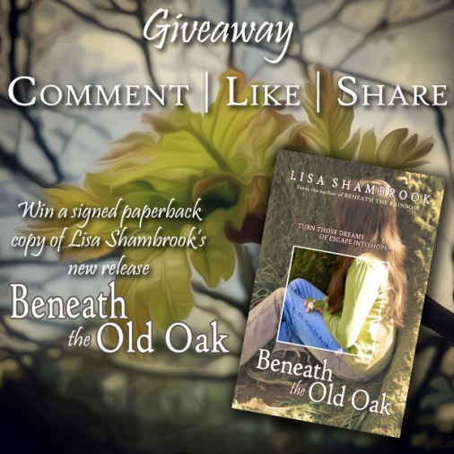 Image advertising Beneath the Old Oak Giveaway