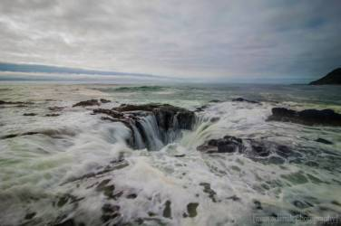 "Matt Adamik Photography ""Thor's Well"" Cape Perpetua Oregon"