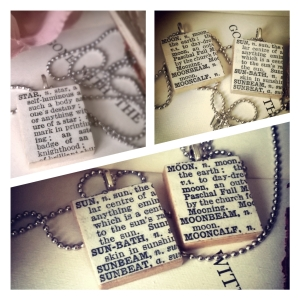 Sun and Moon Dictionary Necklaces - Amaranth Alchemy
