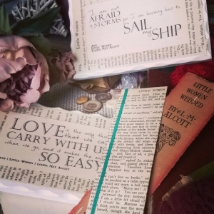 Little Women Bookmarks and Quote Plaques - Amaranth Alchemy
