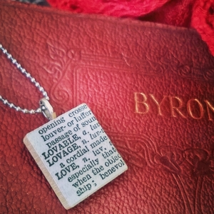 Love Dictionary Necklace - Amaranth Alchemy