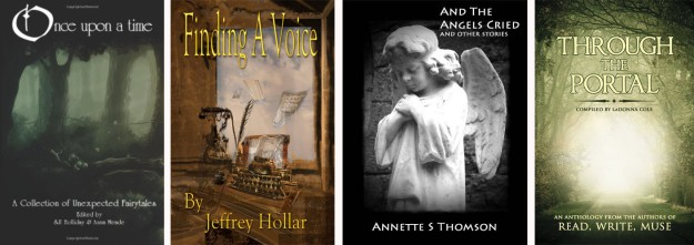 Once Upon a Time, Finding a Voice, And the Angels Cried, Through the Portal, Anna Meade, SJI Holliday, Annette S Thomson, LaDonna Cole, Read Write Muse,