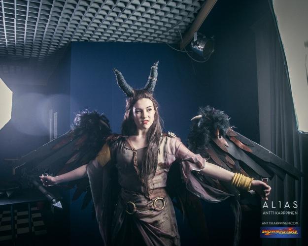maleficent cosplay, cardiff comic con, Antti Karppinen Photography Alias Creative