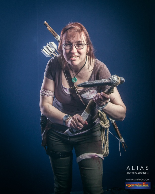 Lisa Shambrook - Lara Croft Tomb Raiider 2013 - by Antti Karppinen Photography, Alias Creative
