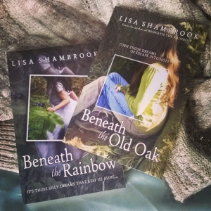beneath the rainbow, beneath the old oak, lisa shambrook, books, grief, hope, depression,