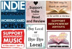 support indie, buy local, buy indie, support indie authors, buy indie music,