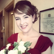 Bridesmaid Bekah © Lisa Shambrook