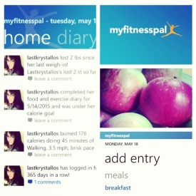 my fitness pal, the last krystallos, keep fit, lose weight, losing weight, weightloss,
