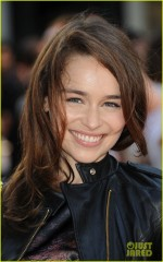 Emilia Clarke attends the UK film premiere of 'Fast Girls' at Odeon West End on June 7, 2012 in London, England. (Photo by Stuart Wilson/Getty Images)