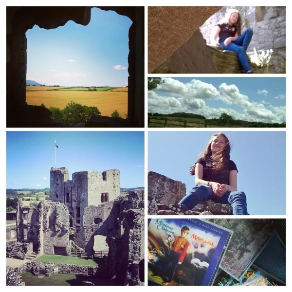 Raglan Castle and the drive to Wales © Lisa Shambrook