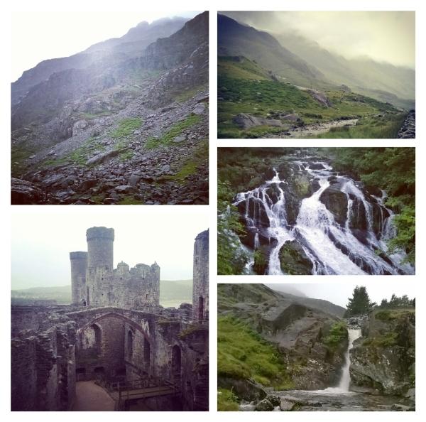 Cader Idris, Snowdonia, Conwy Castle, Swallow Falls, Blaenau Ffestiniog © Lisa Shambrook
