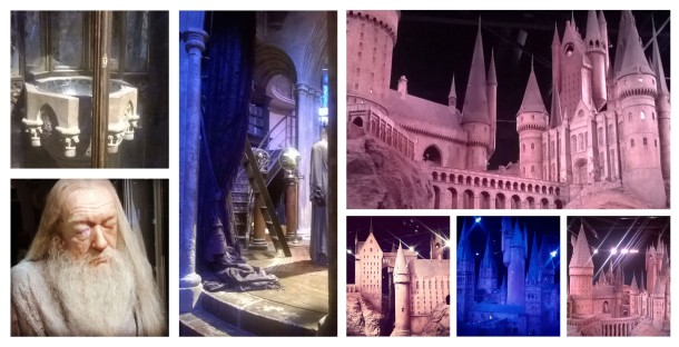 Dumbledore's Study and Hogwarts Display © Lisa Shambrook