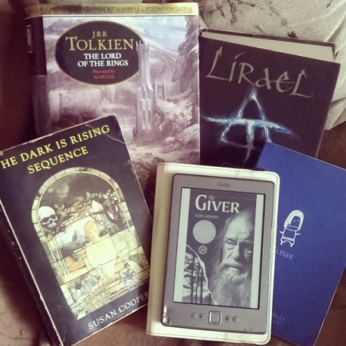 My Five Favourite Books © Lisa Shambrook