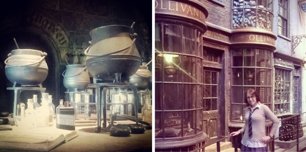 Potions Room and Ollivanders in Diagon Alley © Lisa Shambrook