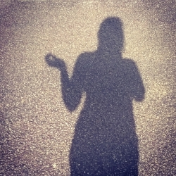 My #InShadowSelfie for Invisible mental and physical illness Awareness © Lisa Shambrook