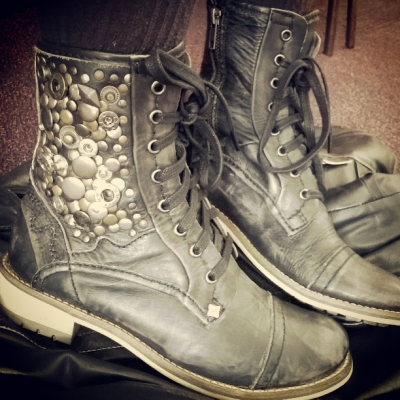 Boots... © Lisa Shambrook
