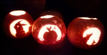 carving pumpkins, the last krystallos,