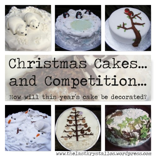 Cake Craft And Decoration Competition : Decorating Christmas Cakes?and a Competition The Last ...