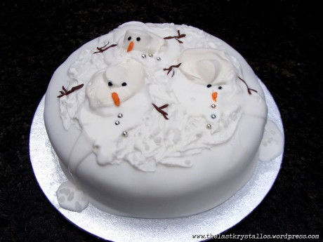 Melting-snowmen-Christmas-Cake-the-last-krystallos-2012