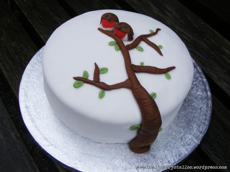 Christmas Cake Ideas Robin : Decorating Christmas Cakes?and a Competition The Last ...