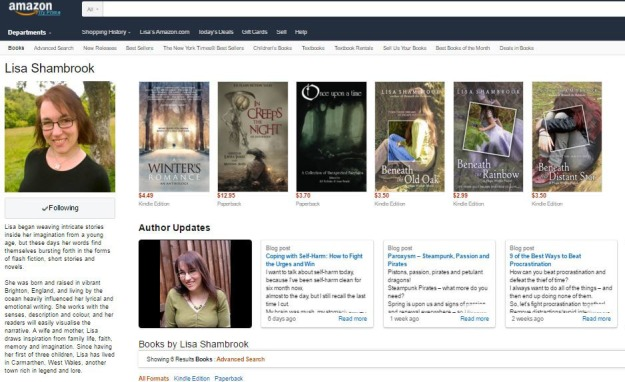 amazon-com-author-page-lisa-shambrook