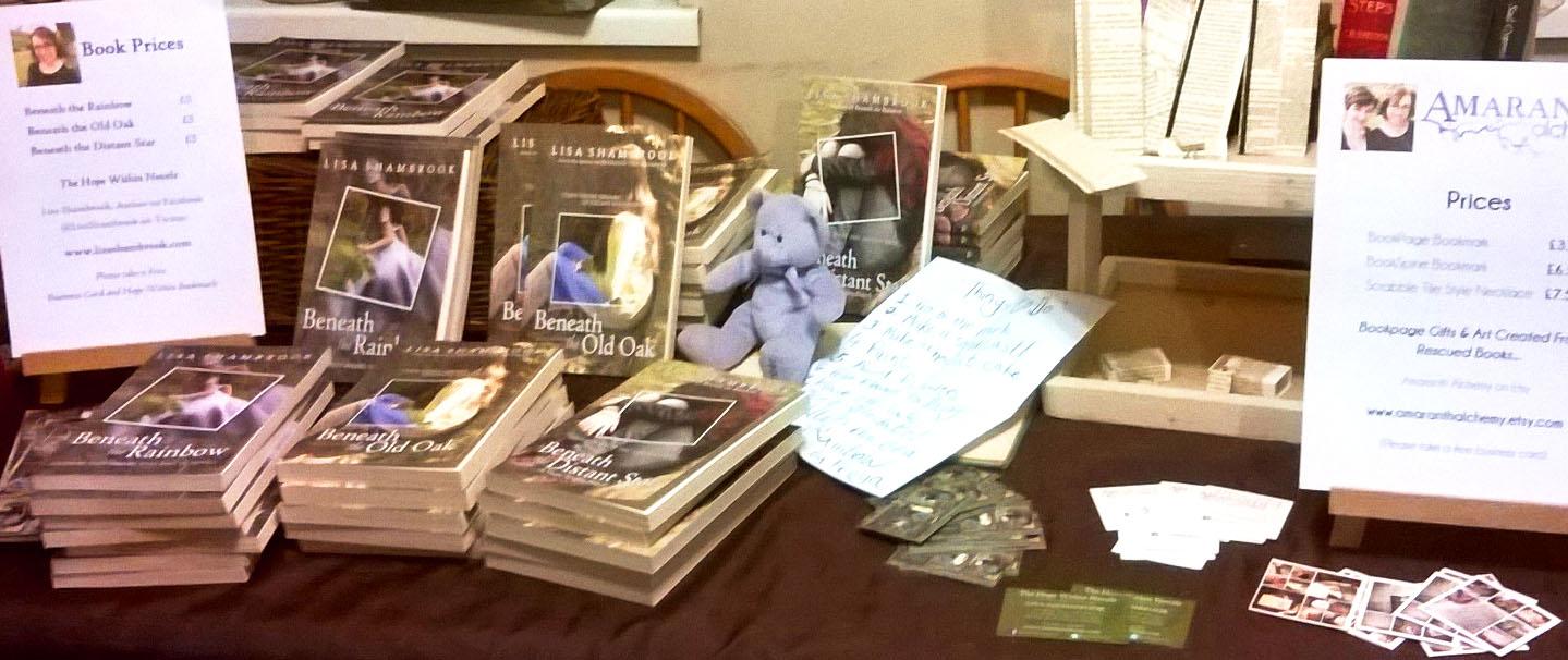 Llandeilo-book-fair-set-up-practise