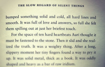 love-answers-spilling-snippet-the-slow-regard-of-silent-things-patrick-rothfuss-the-last-krystallos-review