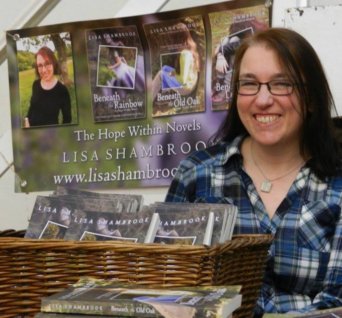 Lisa Shambrook Llandeilo Book Fair 2016