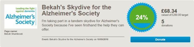 Bekah-skydive-alzheimer-justgiving