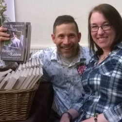 Llandeilo Book Fair 2016 Lisa Shambrook and Christoph Fischer