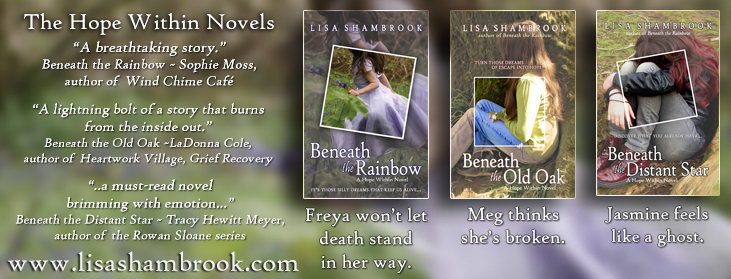Lisa Shambrook The Hope Within Novels Twitter Ad