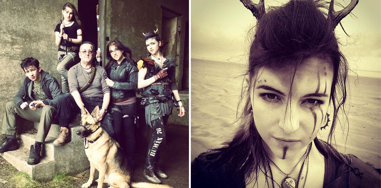 Shambrook Post Apocalyptic Photo Shoot and Ghabrie - Bekah