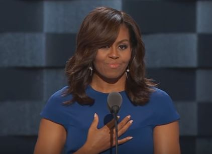 Michelle Obama DNC speech 2016