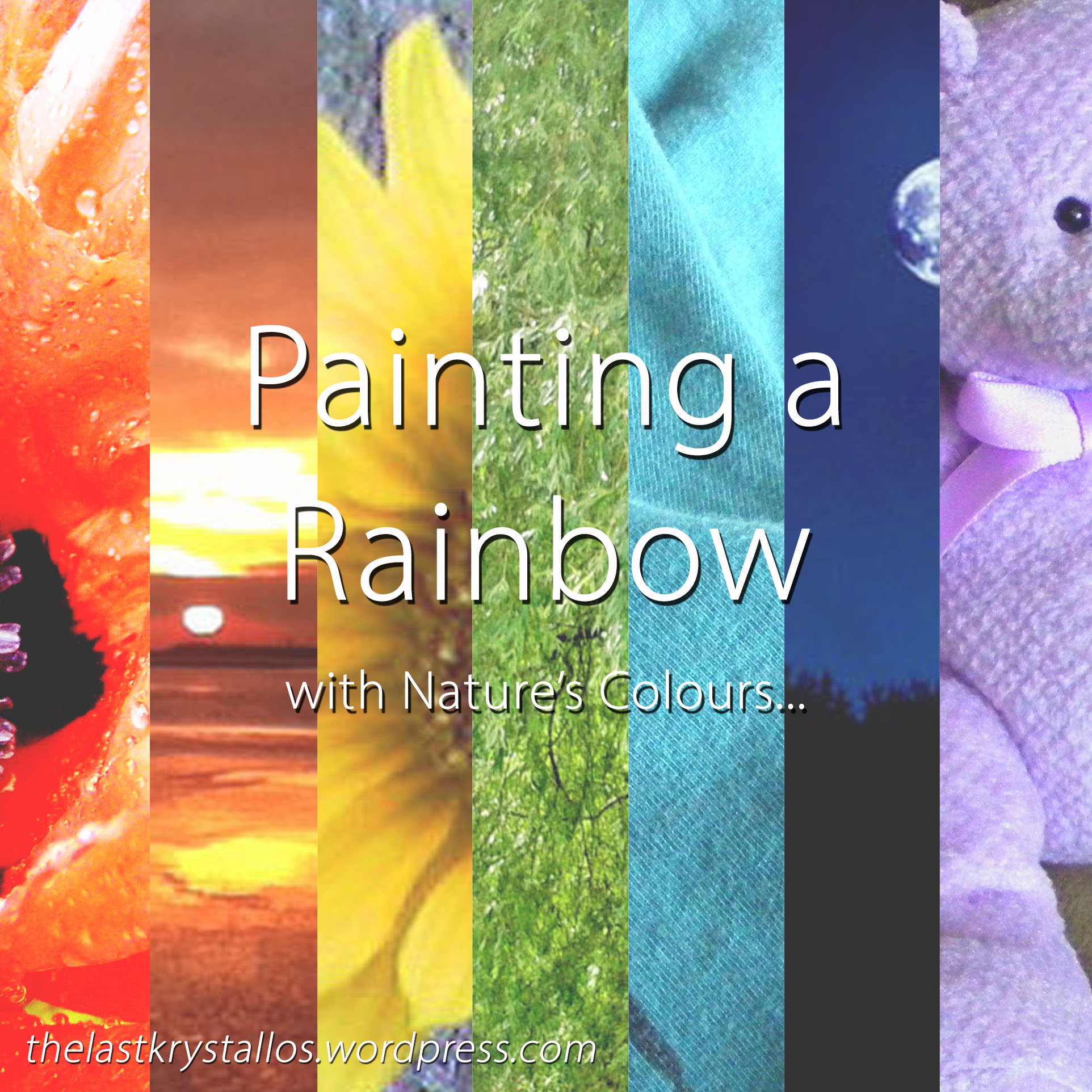 Painting a Rainbow with Nature's Colours... The Last Krystallos