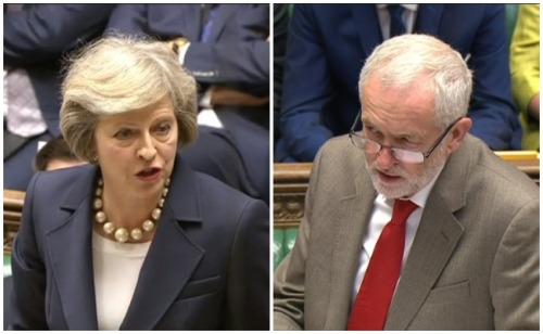 Theresa-May-Jeremy-Corbyn-PMQs