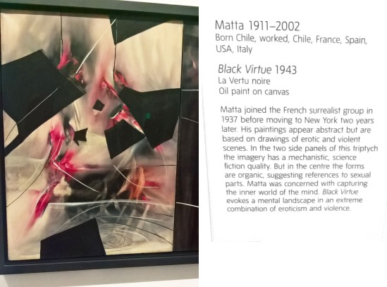 Matta - Black Virtue Triptych