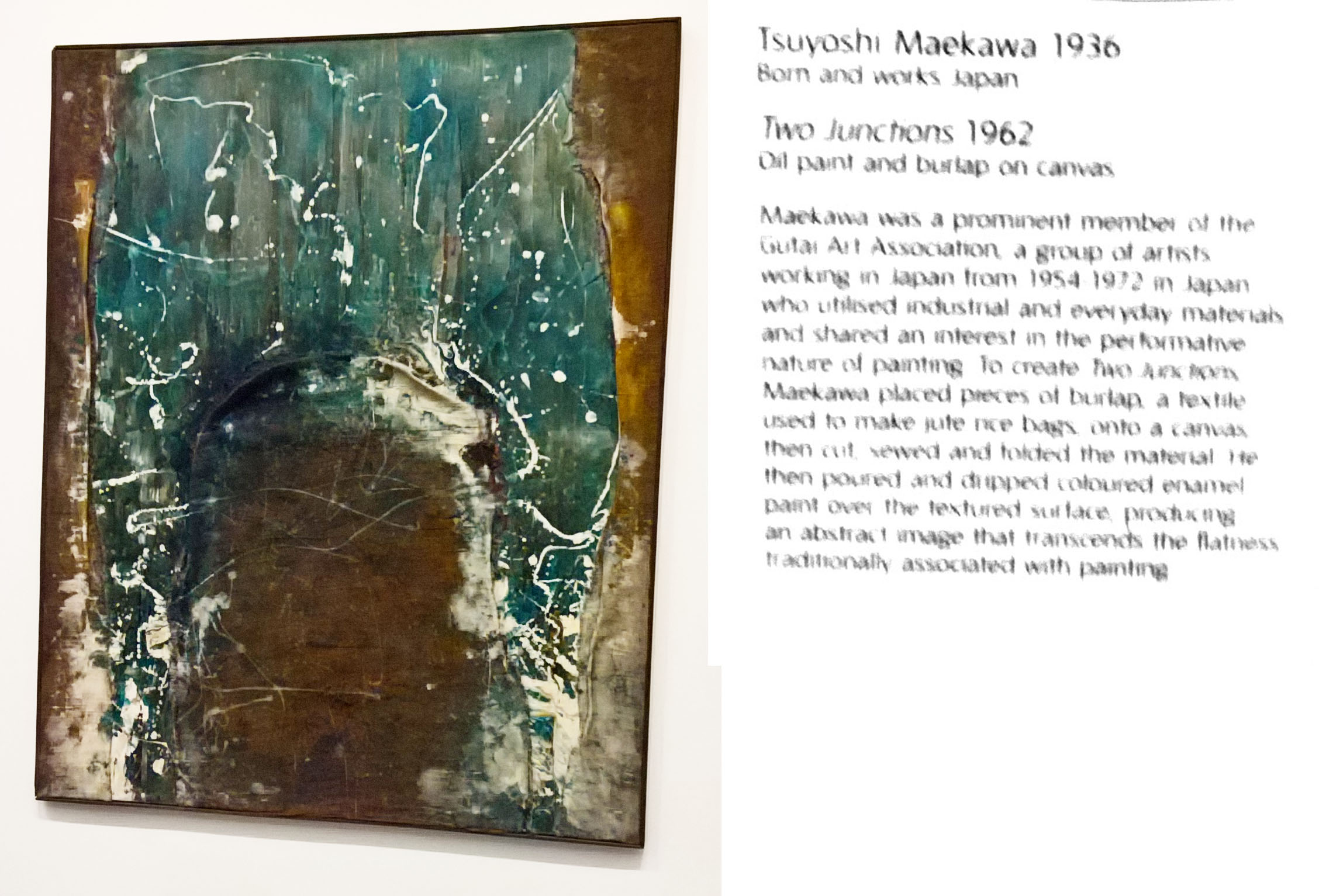 Tsuyashi Maekawa - Two Junctions