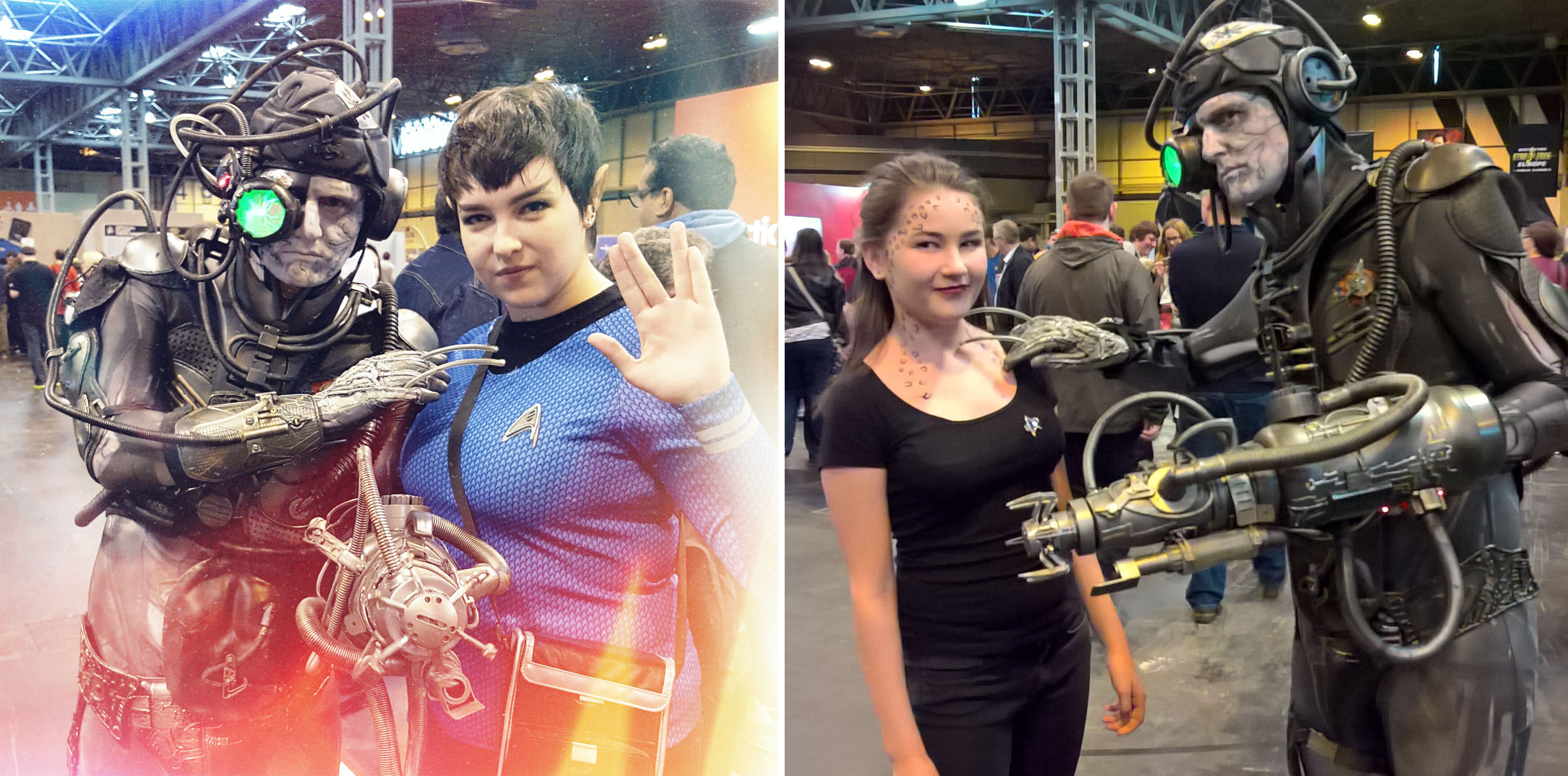 bekah-spock-and-borg-and-cait-jadzia-dax-destination-star-trek-50th-anniversary-oct-2016