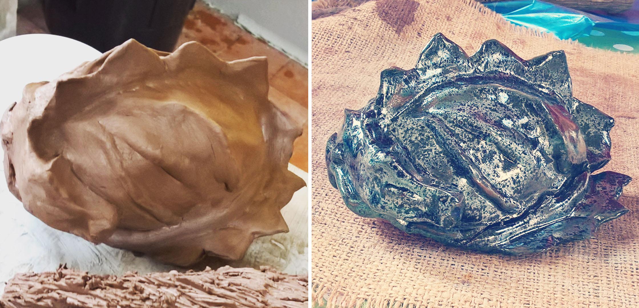 clay-and-glazed-sleeping-dragon-pinchpot-work-lisa-shambrook-greenspace-carers-sept-2016