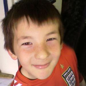 Before Dan had his hair cut.